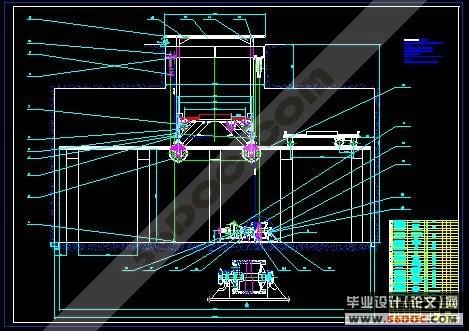 自动化立体车库的设计(机电一体化)
