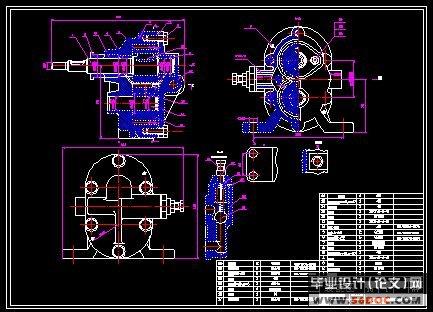 答:我有,不过不是油泵,是液压齿轮泵.图片