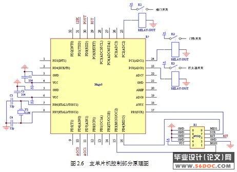 论述了系统硬件电路设计