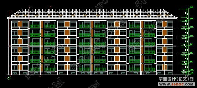 六层(6+2)砌体结构住宅毕业设计(pkpm电算)