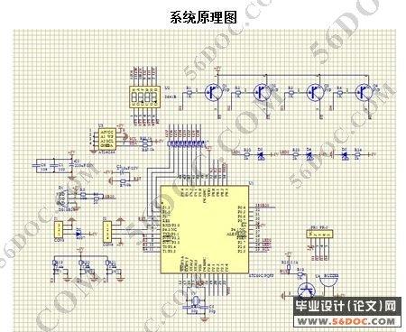 4显示电路13   2.5温度传感器模块15