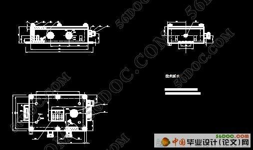 汽车防盗报警器的设计 含机械图和电路图高清图片