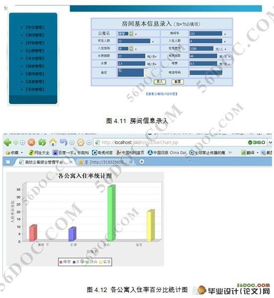 学院公寓(宿舍)管理系统的设计(mysql)(附答辩记录)(精品)