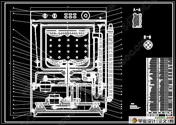 揉搓式全自动洗衣机机械系统的设计