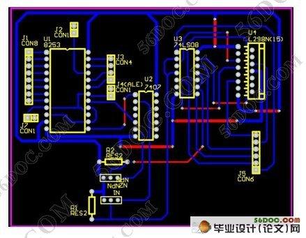 有线遥控机器车软件设计(附电路图,硬件原理图,程序,pcb图)