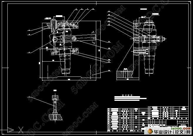 柴油机曲轴的加工工艺及夹具设计(含工序卡)(含任务书,开题报告,中期检查表,论文说明书8700字,CAD图纸11张) 摘 要:曲轴的制造工艺目前处于发展阶段,国内已引进了一批先进的锻造设备,但由于数量少,加之模具制造技术和其他一些设施跟不上,使一部分先进设备未发挥应有的作用。从总体上来讲,需改造和更新的陈旧的普通锻造设备多,同时,落后的工艺和设备仍占据主导地位,先进技术有所应用但还不普遍。随着贸易全球化的到来,各厂家已意识到了形势的严峻性,纷纷进行技术改造,全力提升企业的竞争力。近年企业来引进了许多先进设