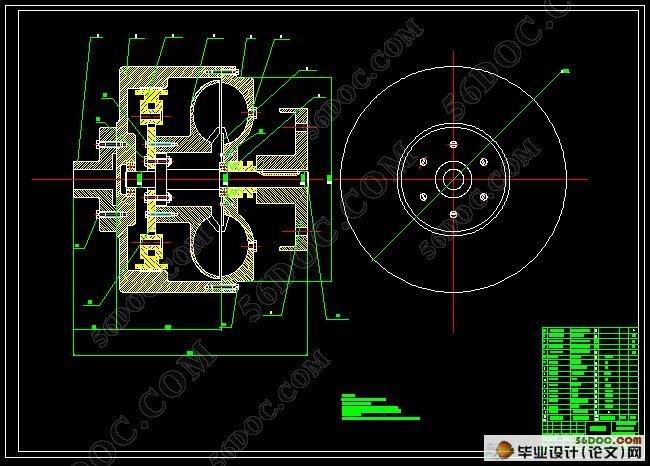 闭锁式液力偶合器的设计(含开题报告,外文翻译,毕业论文说明书20000字,cad图纸8张) 摘 要 液力偶合器的实质是离心泵与涡轮机的组合,主要由输入轴、输出轴、泵轮、涡轮、外壳、辅室及安全保护装置等构成。目前对液力偶合器的设计有三种——研发类的全新型设计、相似设计和选型设计。工程中运用最多的是选型设计。本文试图在结合行业中液力偶合器的设计惯例,结合工作要求,进行选型设计和相似设计,并做重要部分的结构设计。 对输出轴孔和输入轴孔进行结构设计与校核,包括轴孔的强度校核和轴孔上的配合螺