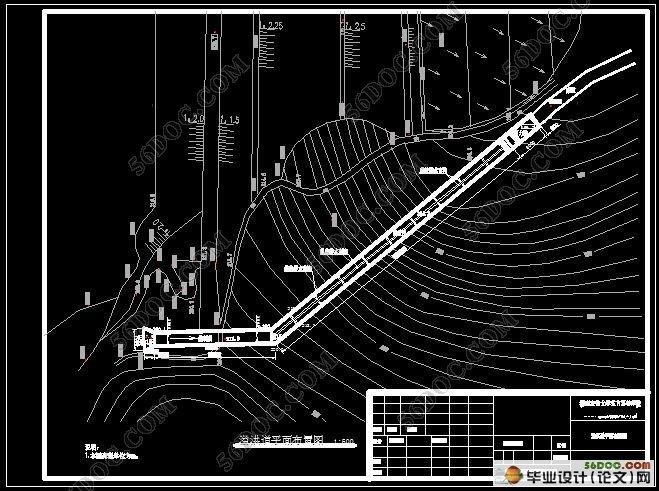 三余水库除险加固设计(附CAD图纸)(含选题审批表,任务书,开题报告,中期检查表,论文说明书22000字,CAD图纸20张合一) 摘 要:针对三余水库存在的大坝填土质量差、沉陷不均匀;输水隧洞砼老化严重、局部开裂;溢洪道底板未铺垫、侧墙多处破损;、无防汛公路、无通讯设施等问题,需要对水库除险加固。本设计主要包括对大坝的防渗设计、溢洪道和输水隧洞的加固设计以及防汛公路改造设计等。经设计后原工程有利于保护下游耕地,提高灌溉能力和防洪标准,及时准确掌握大坝的运行情况。 关键词:水库;防渗;加固;灌溉防洪 Des