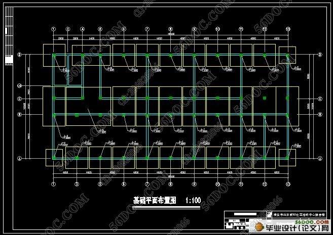 五层4750平米框架结构实验学校宿舍楼设计(含选题审批表,任务书,开题报告,中期检查表,外文翻译,论文说明书40000字,CAD建筑图8张,结构图16张) 毕业设计说明书中文摘要 本次毕业设计题目为淮安市北京新村社区活动中心综合楼设计。本设计方案采用五层框架结构,位于淮安市。本说明书就综合楼的设计原则及结构计算结果做了说明,并附以详细的计算过程。 本设计主要包括建筑设计和结构设计两部分。建筑设计包括平面设计、立面设计、剖面设计。结构设计主要包括:结构选型,梁、柱、墙等构件尺寸的确定,重力荷载计算、横向水平