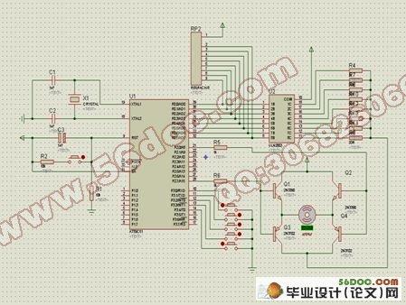 用单片机控制pwm信号直流电机的设计