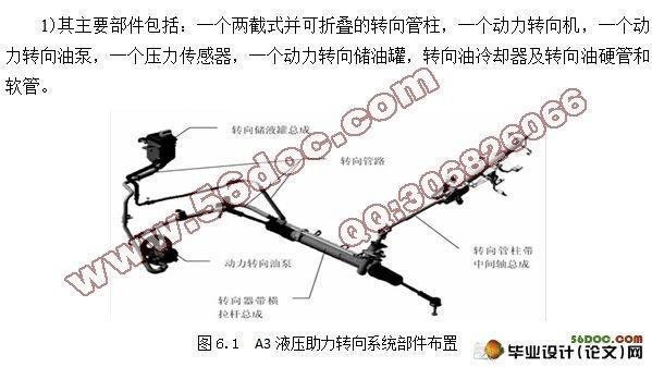 奇瑞汽车转向机构设计(含cad零件图和装配图)