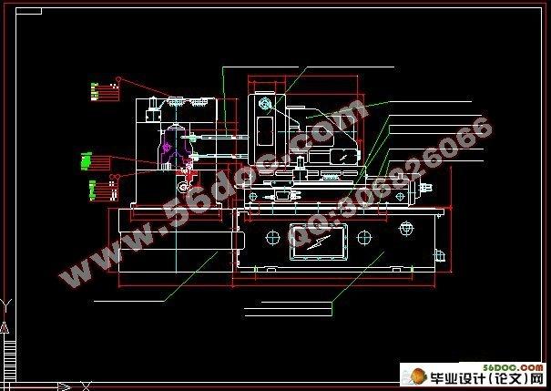 yz485机体钻,扩滤清器面孔组合机床及夹具设计