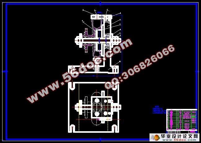 水泵体零件工艺及工装设计(附工艺卡)_毕业设计论文网