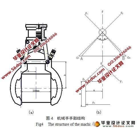 液压控制的移置机械手的设计(含cad零件图装配图)