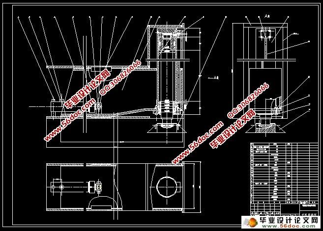 汽车式起重机液压系统的设计图片