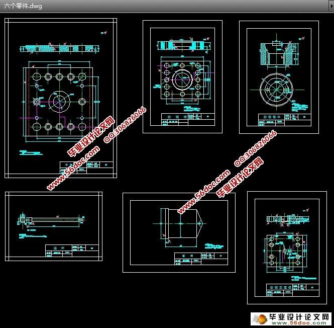 主页 机电毕业设计 模具  桶盖注塑模设计(含cad零件图和装配图)(任