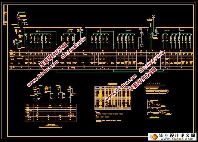 高层住宅建筑电气设计(含cad电气