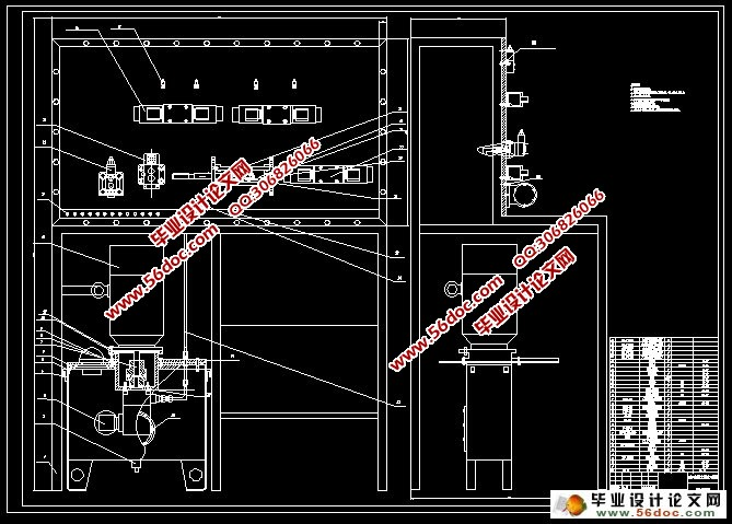 多级减压回路实验装置设计(含cad零件图装配图)