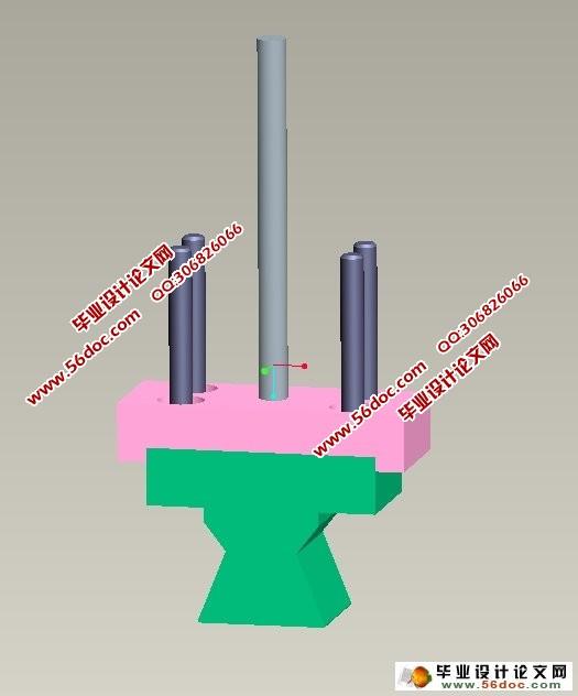 角小于90度的U形弯曲模运动仿真设计 含CAD图,Proe三维图,仿