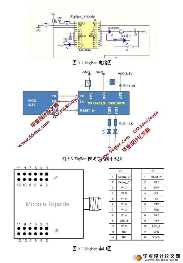 模块电路的各个接口,以方便最终智能小车的组装