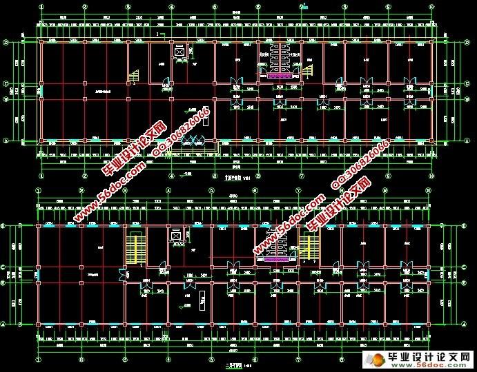 六层6000平米供电局办公楼建筑结构设计(含总平面图)