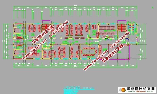 (一) 工程概况   该工程主体为现浇钢筋混凝土框架结构,建筑面积