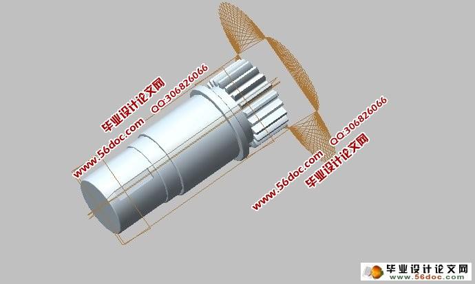 基于ProE风力发电机增速器设计及有限元分析(含CAD零件图装配图)(任务书,开题报告,外文翻译,论文说明书10000字,CAD图纸5张,有限元分析) 摘 要 风力发电机顾名思义是依靠风所作用的能量进行发电的一种装置,最近几年,风机生产行业成长相当的迅速,作为风机整个机组中最为重要的部位,风机的齿轮箱的研究与发展一向被世界所关注。西方许多家已经掌握了许多核心技术,然而我国对风力发电机齿轮箱的研究虽然也取得了不少突破,但就国外而言还是存在了不少差距,很多部件还是依靠国外进口。所以我国应该继续跟进风机齿轮箱的