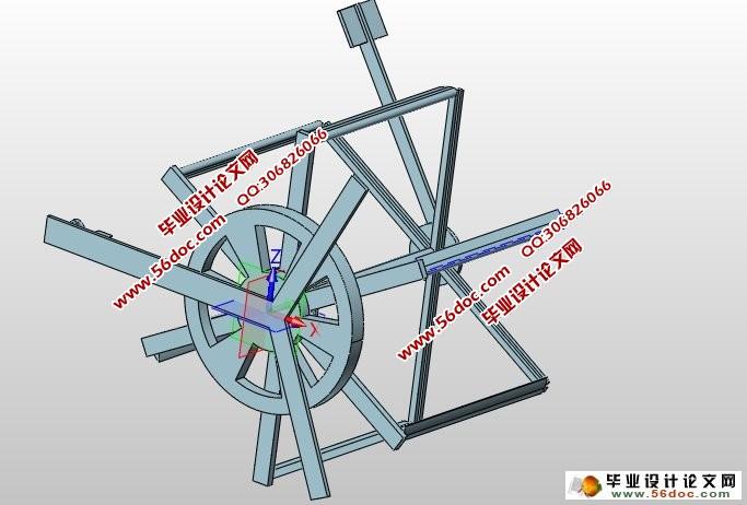 垂直轴风机叶片变偏角机构设计(含CAD图,ProE三维)(任务书,开题报告,外文翻译,论文说明书9400字,CAD图纸12张,PROE三维图2张) 摘 要 新兴市场的风电能源产业发展迅速,在国家政策的支持和能源供应紧张的背景下,中国的风电能源产业特别是风电设备制造业迅速崛起,已成为全球风电产业发展最为活跃的地区。2006年,全球风电发展所用的资金中有9%投向了中国,总额高达16.