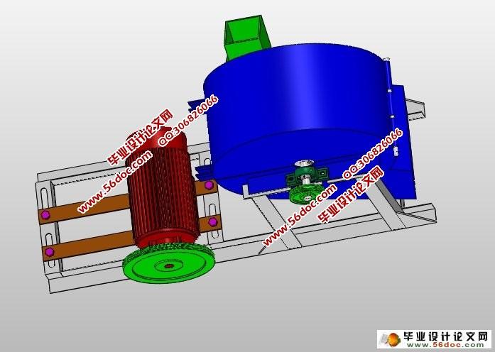园艺杂枝粉碎机的设计(农业机械)(含CAD图,SolidWorks三维)(任务书,开题报告,论文说明书8800字,CAD图纸8张,SolidWorks三维图,答辩PPT) 本次设计通过介绍园艺杂枝粉碎机的粉碎原理,列举说明园艺杂枝粉碎机的构造、工作原理、特点以及存在的优缺点,同时借鉴现有树枝粉碎机的优点,通过对原始数据的分析、方案的论证比较与选择,完成了园艺杂枝粉碎机的总体设计。设计出一种能耗较低、价格便宜、效率较高、整体轻巧的小型园艺杂枝粉碎机,并且介绍了其使用的方法。为各个具有园林的场所提供一种实用的