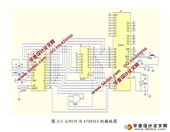 此信号由放大电路进行放大,经滤波后再由模/数(a/d)转换器进行转换
