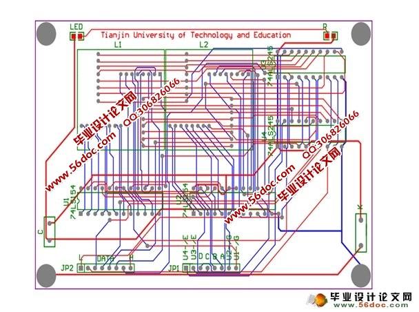 广告发光字电路图
