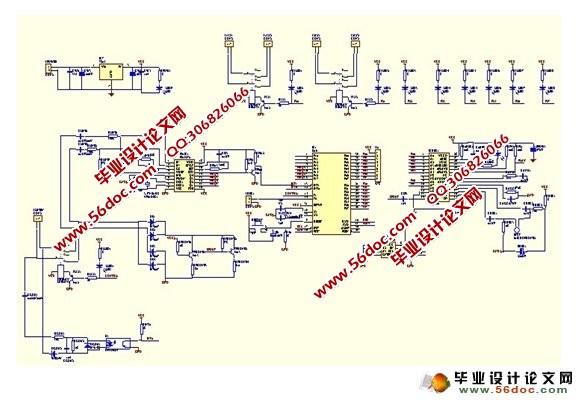 基于pstn的家用电器远程控制系统(附程序,电路原理图)