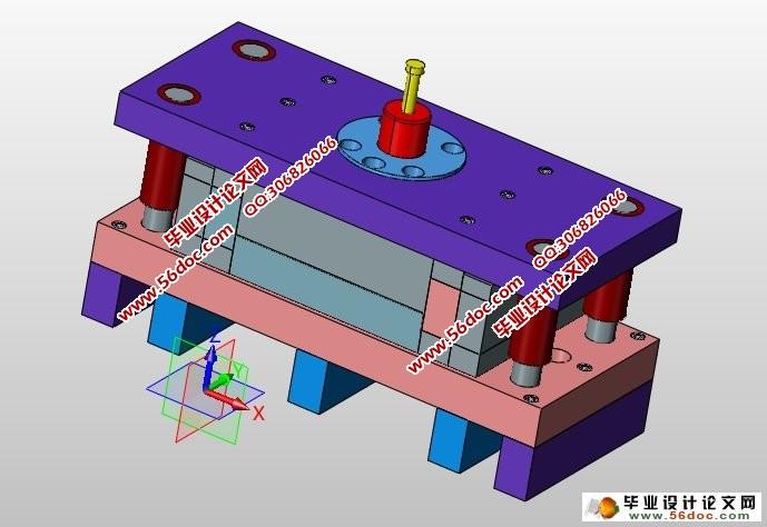 pc主机侧板冲压拉伸模具设计(含cad图,ug三维图)