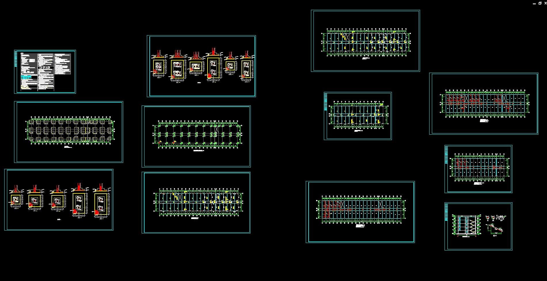 酒店厨房平面图-济南市五层6100平米商务酒店设计 建筑图,结构图