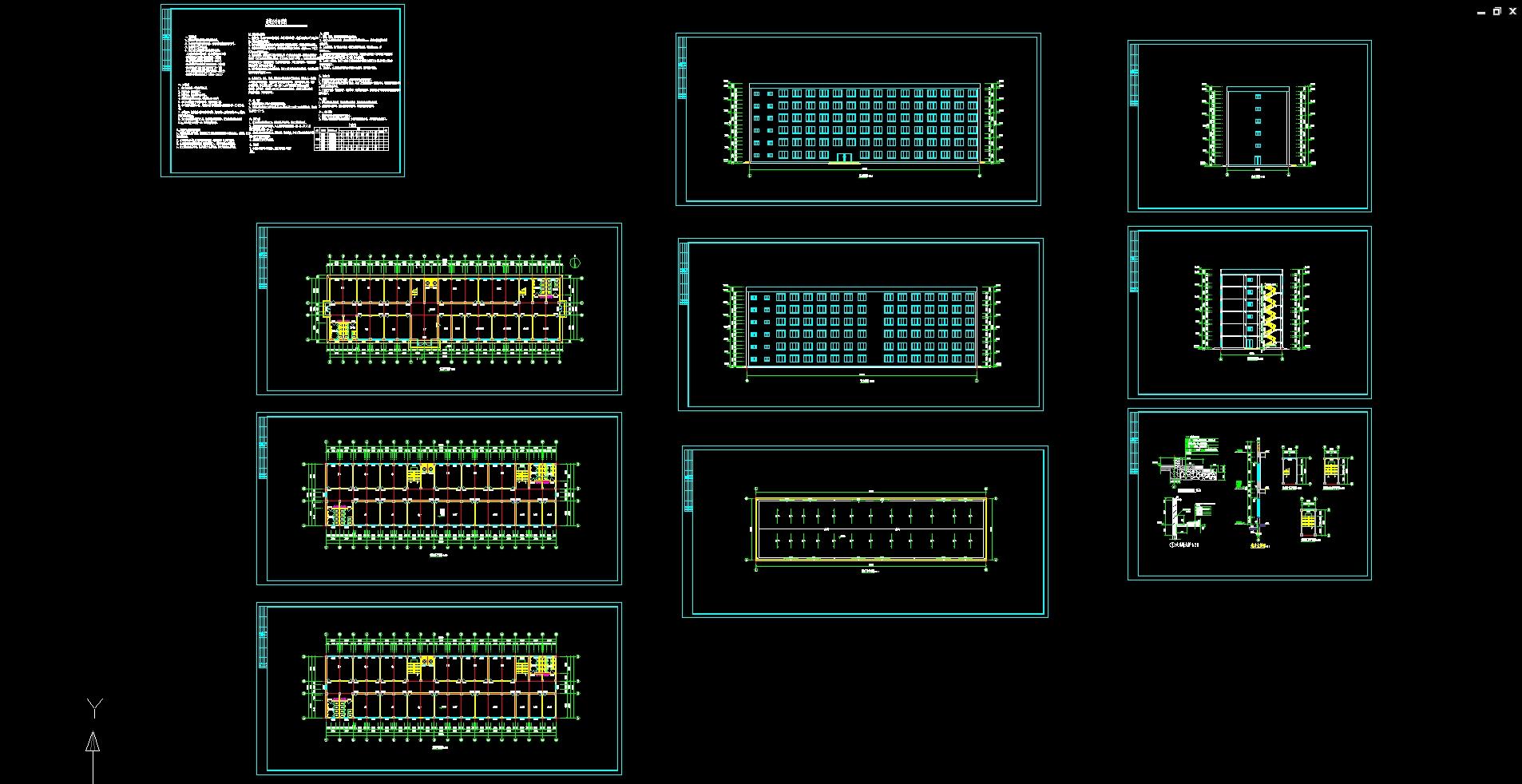 室内景观水系结构图