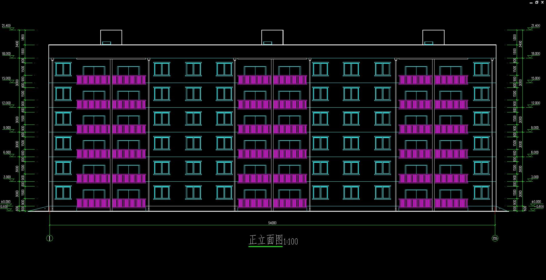 南京市六层3846平米小区住宅楼施工组织设计(建筑图,结构图)(任务书,开题报告,施工组织设计书71000字,建筑图8张,结构图8张) 南京市南京市某住宅小区3#楼,位于有密集建筑群市区,该工程为钢筋混凝土框架结构,总建筑面积3846.0,地上六层,一层层高3.00m,二层层高3.00m,其余各层层高3.