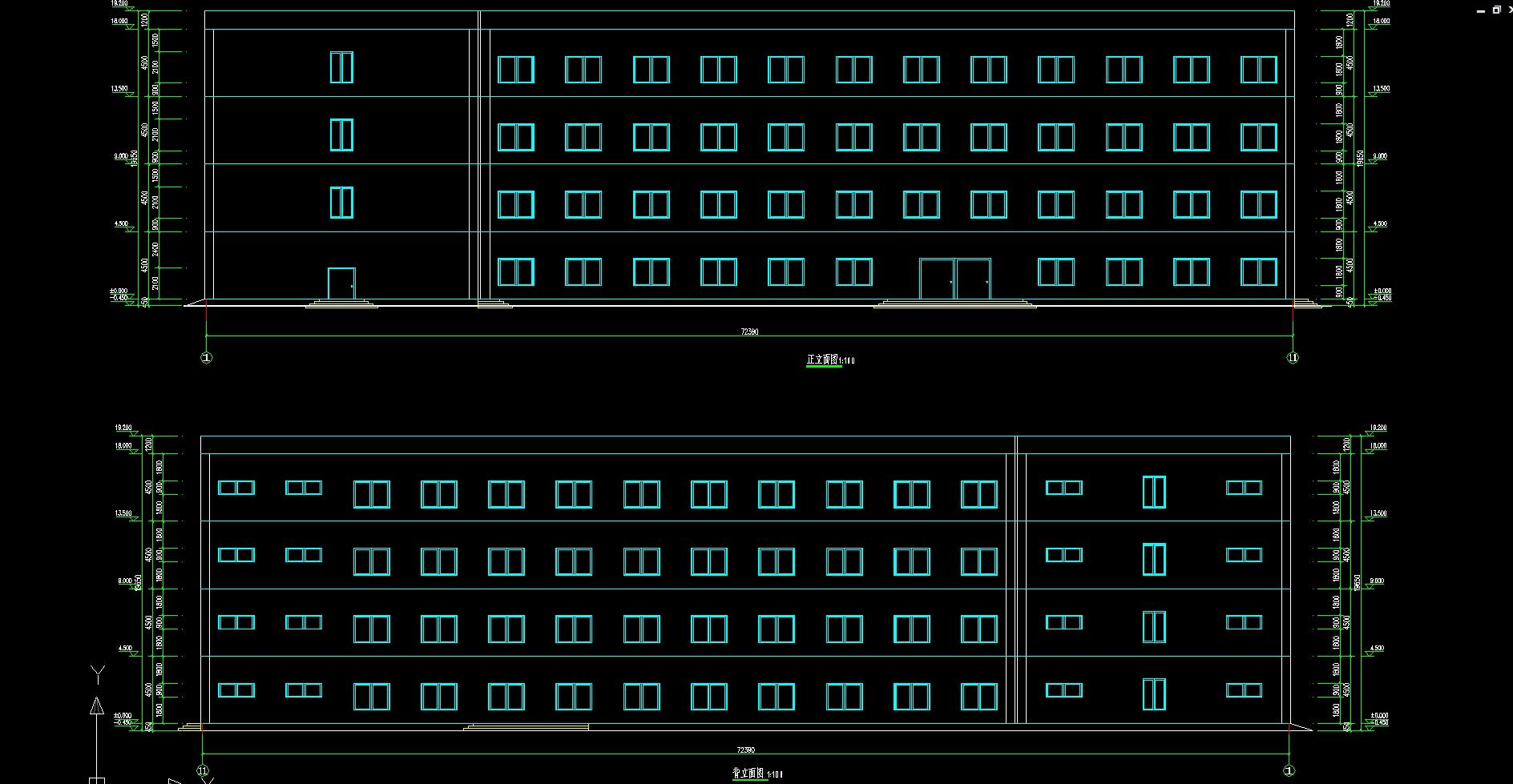 广西贺州四层7268平米中学教学楼设计(建筑图,结构图)(计算书25000字,建筑图6张,结构图8张) 本设计广西贺州某中学2#教学大楼设计。该大楼层数为4层,主框架高度为18m,结构类型为钢筋混凝土框架结构。 1.1 设计原始资料 1.1.1 工程概况 该工程为现浇钢筋混凝土框架结 构,建筑面积7268.