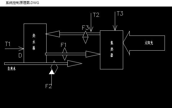 太阳能热水器控制系统的设计(含cad电路