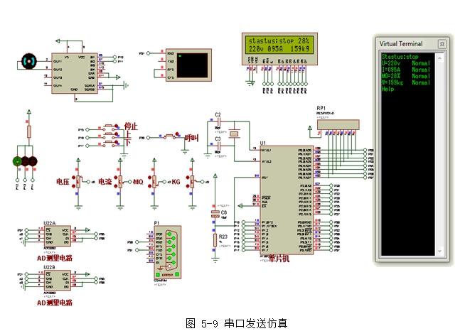 电梯监控系统的设计与实现(含电路,proteus仿真程序)(精品)