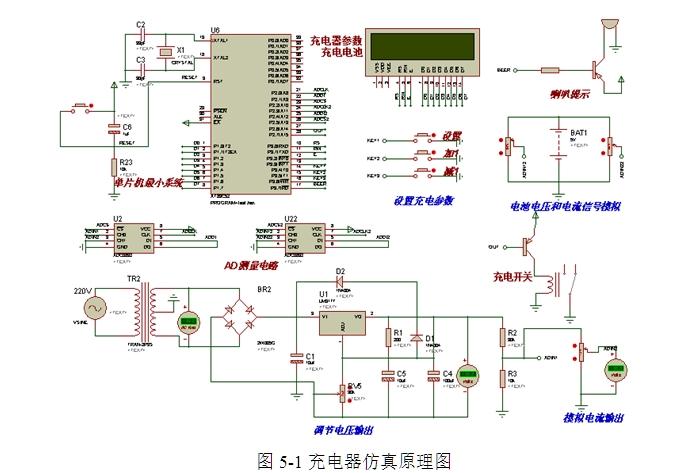 proteus旋转编码器电路图