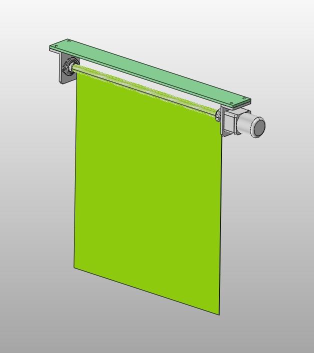 基于plc的智能窗帘控制系统设计(含cad图,solidworks三维图)