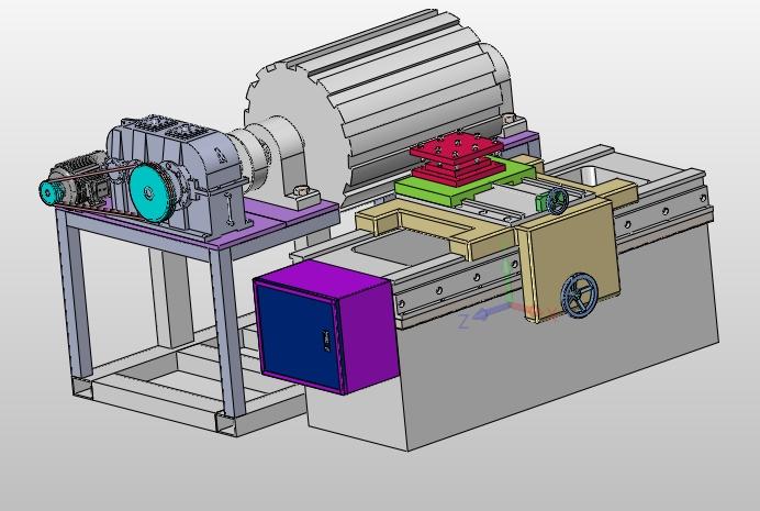 主页 机电毕业设计 机械  长齿条加工专用车床设计(含cad图