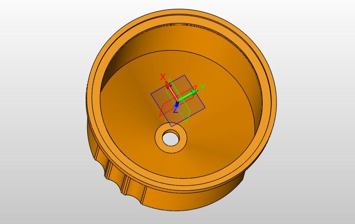 灯头罩塑料件一模多腔模具设计(含CAD图,SolidWorks三维图)(论文说明书9400字,CAD图纸10张,SolidWorks三维图) 摘 要 该毕业设计的内容是灯头罩的注塑模具,材料为PP,根据其结构形状特点以及通过对灯头罩成型工艺的正确分析,确定型腔的总体布局,选择分型面,确定脱模方式,设计浇注系统等; 本次设计详细介绍了灯头罩注塑模具的设计过程,包括模架的选用,浇注系统的设计,推出系统等等的设计。 关键词:塑料模具;参数化;分型面;成型 2.