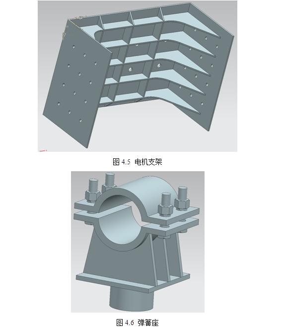 3090型直线振动筛结构设计(含cad,caxa图零件装配图,ug三维图)