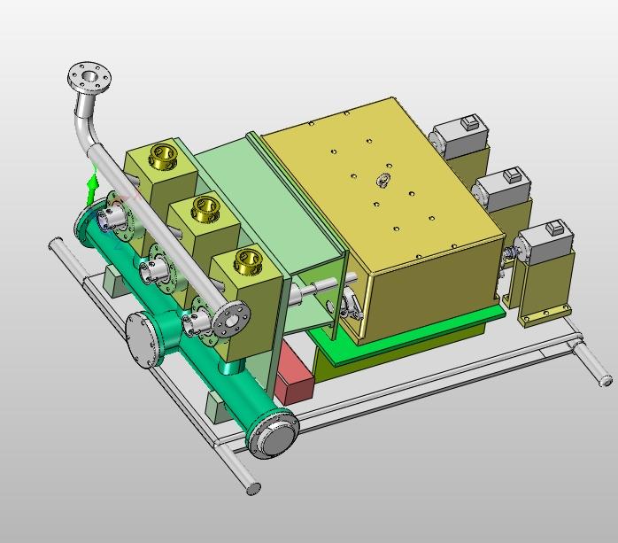 数控钻泥浆泵的设计(含CAD零件装配图,SolidWorks,IGS三维图)(论文说明书11000字,CAD图纸9张,SolidWorks三维图,IGS通用三维格式) 摘 要 机械工业是一个国家的重要产业,机械工业的发展无时不刻都在影响着国家经济的发展,人类的进步离不开机械工业的发展。在全球经济发展的大环境下,中国各个行业被其他国家的先进技术影响的同时,越来越多的外国企业和品牌传播到中国已经成为现实。在新的市场需求的推动下,对数控钻泥浆泵进行改良和优化是当务之急。有大型数控钻泥浆泵生产设备企业对设备的安全