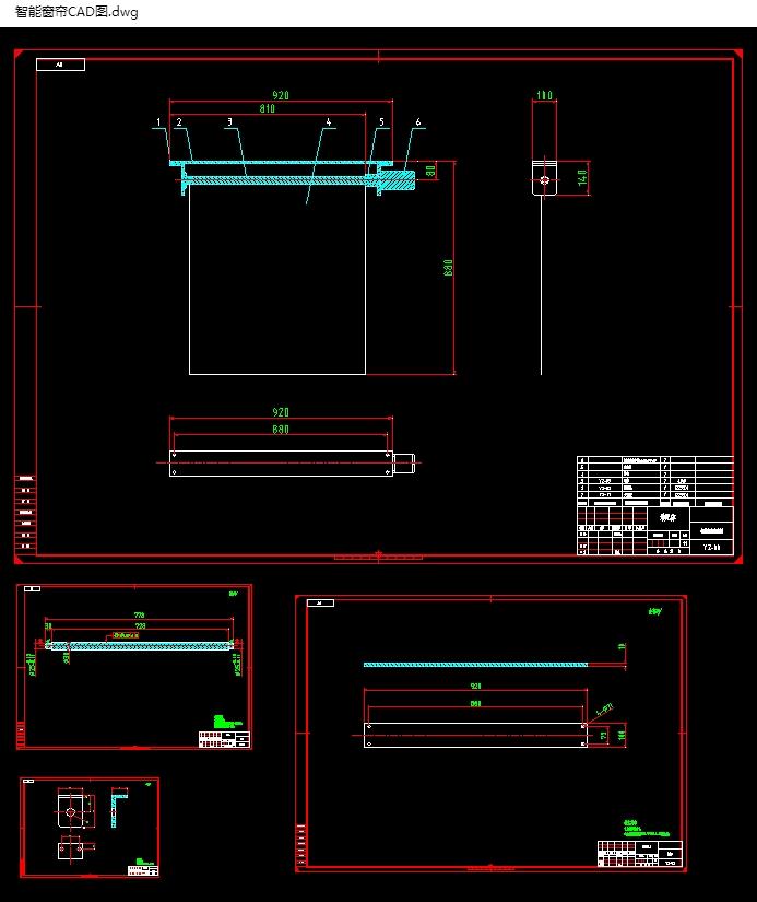 基于单片机控制的智能窗帘设计(含CAD电路图,零件装配图)(论文说明书10000字,CAD图纸8张) 摘 要 本文首先介绍了智能家居的基本知识及其应用前景,进而阐明了开发作为智能家居中一个很重要部分——红外线遥控自动窗帘的意义。随后着重介绍了开发单片机控制的红外线遥控窗帘系统所用到的集成芯片STC89C52、DS1302芯片、红外线发射接收器等硬件的结构原理。本文采用分块的模式,对整个系统的硬件电路设计进行分析,分别给出了系统总体框图、电源电路、时钟DS1302电路、鸣响电路、红外