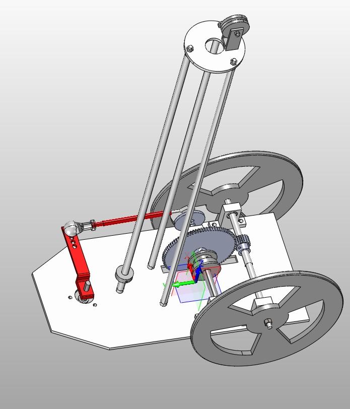 无碳小车的设计与实现(含cad零件装配图,solidworks,igs三维图)