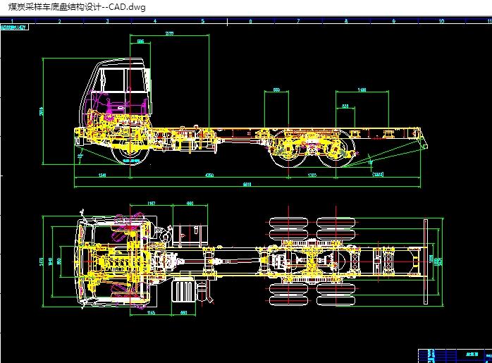 主页 机电毕业设计 汽车  煤炭采样车底盘结构的设计(含cad零件装配图
