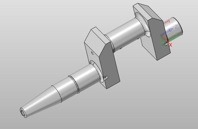 曲轴的工艺设计及相关夹具设计(含cad零件夹具图,solidworks三维