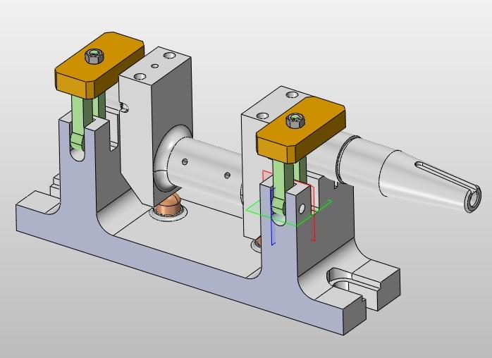 机床夹具对零件加工的质量,生产率和产品成本都有着直接的影响.